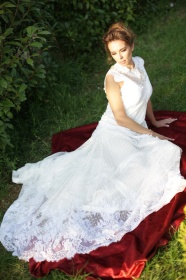 Calliope Anemouli wedding dress white 3